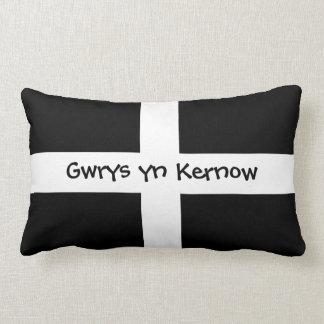 Gwrys yn Kernow - die in Cornwall wordt gemaakt Lumbar Kussen