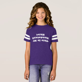 Gymnastiek die het Omgekeerde Overhemd van de T Shirt