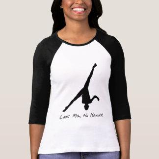 Gymnastique aérienne de roue t-shirt
