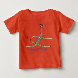Gymnastique d'arc-en-ciel par Happy Juul Company T-shirt Pour Bébé