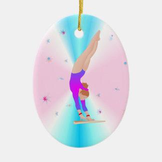 Gymnastique - ornement de fille de mouche