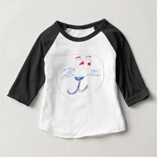 Habillement américain d'Edouard 3/4 T-shirt de