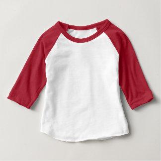 Habillement de bébé 3/4 couleur raglane du T-shirt