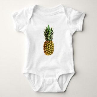 Habillement de bébé d'impression d'ananas body