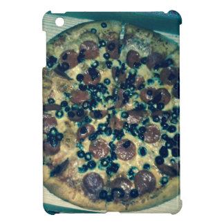 Habillement grunge et articles de pizza étuis iPad mini
