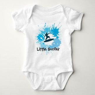 Habillement personnalisable surfant de bébé body