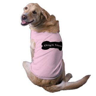 Habillement personnalisé d'animal familier pour t-shirt pour animal domestique