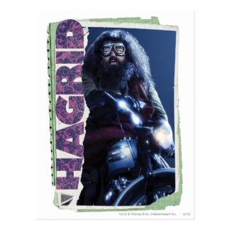 Hagrid Carte Postale
