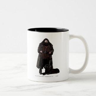 Hagrid et chien mug bicolore