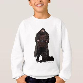Hagrid et chien sweatshirt
