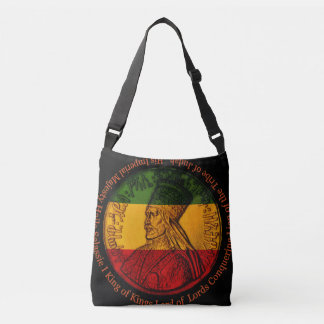 Haile Selassie croisent plus de le sac mortuaire