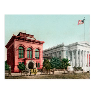 Hall de carte postale vintage de la Californie de