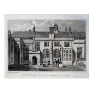 Hall du retraité, Chambre de charte Carte Postale