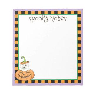 Halloween Eskie Bloc-note