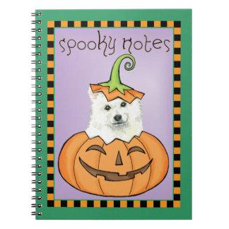 Halloween Eskie Carnet