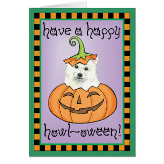 Halloween Eskie Carte