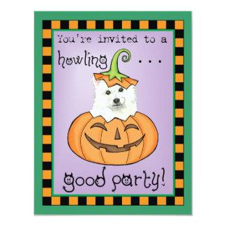 Halloween Eskie Carton D'invitation 10,79 Cm X 13,97 Cm