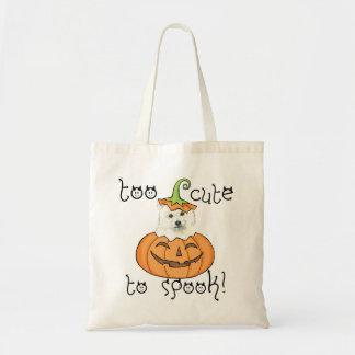 Halloween Eskie Tote Bag