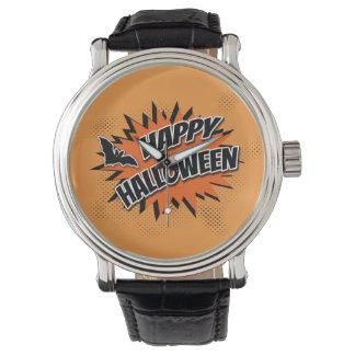 Halloween heureux montres bracelet