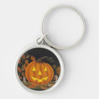 Halloween Jack-o'-lantern avec le porte-clés de