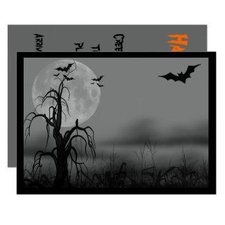 Halloween, mariage, invitation de sweet sixteen