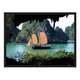 Halong Bay - Post card Briefkaart