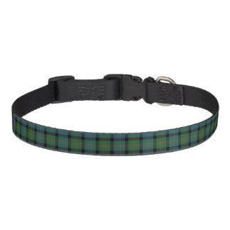 Halsband van het Geruite Schotse wollen stof van Huisdier Halsbandje