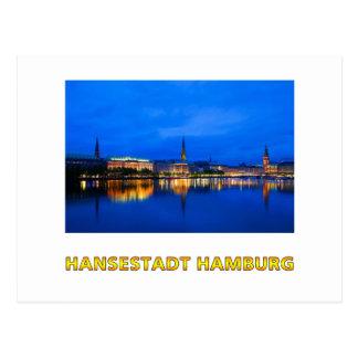Hambourg 003D Carte Postale