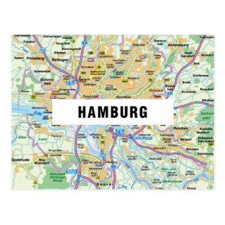 ♥ Hambourg de CARTES POSTALES de CARTE