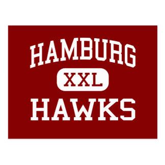 Hambourg - faucons - secteur - Hambourg Carte Postale