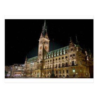 Hambourg Rathaus Carte Postale