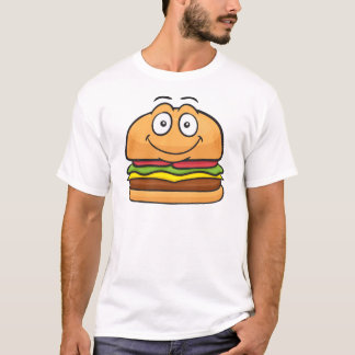 Hamburger Emoji T Shirt