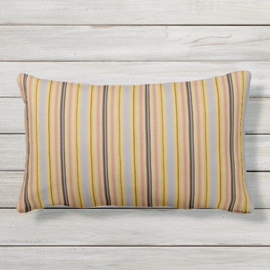 HAMbyWG - coussin lombaire - rayures de limonade