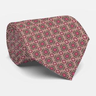 HAMbyWG - cravate - diamants roses marocains/carré
