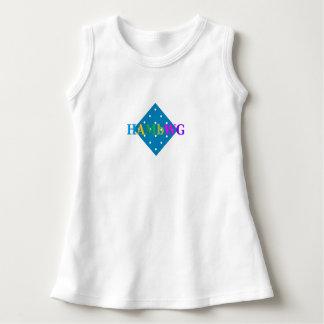 HAMbyWG - logo coloré de robe de T-shirt sur le