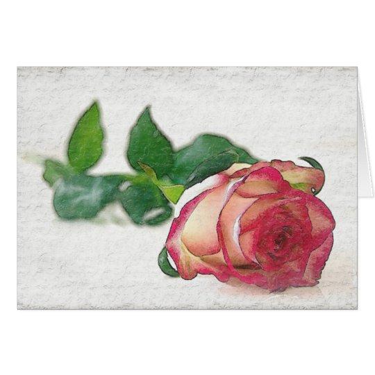 HAMbyWhiteGlove - carte de voeux - choisissez rose