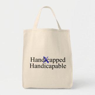 Handicapable handicapé sac en toile épicerie