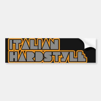 Hardstyle italien autocollant de voiture
