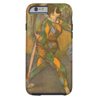 Harlequin et Columbine par art de cru d'Edgar Coque iPhone 6 Tough