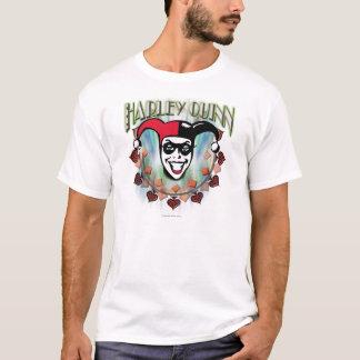 Harley Quinn - visage et logo T-shirt