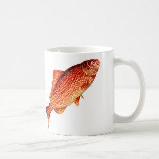 Harmonie de tasse de poisson rouge, prospérité et