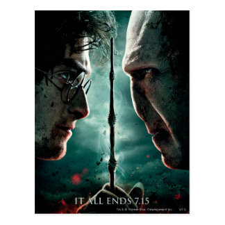 Harry Potter 7 Deel 2 - Harry versus Voldemort Briefkaart