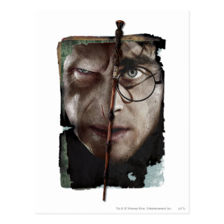 Harry Potter Collage 10 Briefkaart