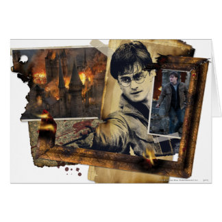 Harry Potter Collage 7 Briefkaarten 0