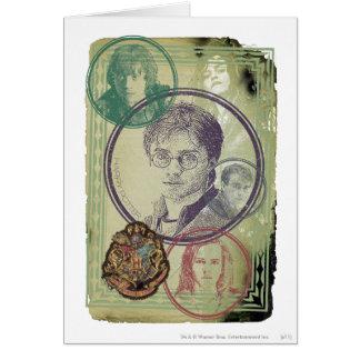 Harry Potter Collage 9 Kaart