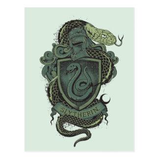 Harry Potter | CREST Slytherin Briefkaart
