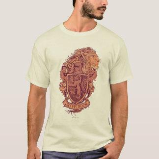 Harry Potter   CREST van de Leeuw Gryffindor T Shirt
