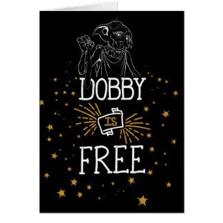 Harry Potter | Dobby is Vrij Briefkaarten 0