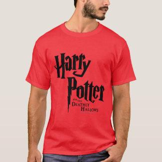 Harry Potter en Dodelijk zegent Logo 2 T Shirt