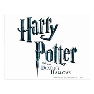 Harry Potter en Dodelijk zegent Logo 3 Briefkaart